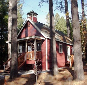 remodeled little red school house nevada county